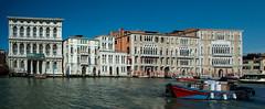 Venice - Canal grande (pe_ha45) Tags: venice venise venezia venedig canalgrande carezzonico palnani palgiustinian cafoscari dorsoduro university museum