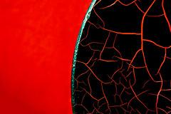 rusty shock absorber of a red locomotive (bhermann.hamburg) Tags: stossdämpfer lokomotive rot schwarz rost rust red black locomotive shockabsorber abstract abstrakt