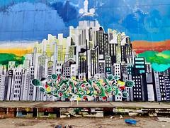 Teufelsberg, Berlin. Wall art (trine.syvertsen) Tags: publicart grafitti wallart streetart teufelsberg germany berlin