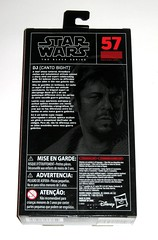star wars the black series #57 dj canto bight 6 inch figure red packaging the last jedi basic action figures 2017 hasbro misb 2b (tjparkside) Tags: dj canto bight star wars black series 6 inch figure red 57 packaging last jedi basic action figures 2018 2017 hasbro blaster pistol weapon weapons finn rose imperial rebel casino codebreaker codebreaking skills misb