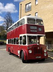 Lothian Buses vintage bus running day, 13 April 2019 (mikeyashworth) Tags: mikeashworth edinburgh lothianbuses lothiancity vintagebus vintagebusrunningday 13april2019 bus publictransport