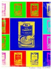 Soups (zweiblumen) Tags: soup asda spicytomato picmonkey warhol canoneos50d canonspeedlite430exii canonef50mmf14usm polariser yongnuorf603cii zweiblumen collage