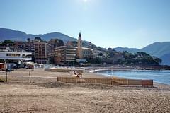 Recco waterfront (Yuri Rapoport) Tags: themediterraneansea 2016 recco liguria italy