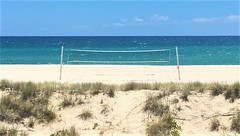 Coolangatta Net (rpiker101) Tags: australia queensland qld beach coolangatta net ocean pacific empty
