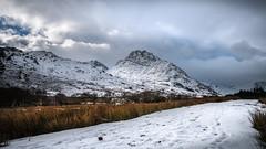Mighty Tryfan....Snowdonia x (Einir Wyn Leigh) Tags: landscape snow winter light clouds wales love outside explore walking uk