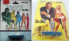 Dr. No (joesmotuheroes2) Tags: toy cars 007 jamesbond carritos de coleccion