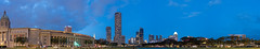 Padang, Singapore (Thanathip Moolvong) Tags: singapore centralregion sg padang panorama wide blue