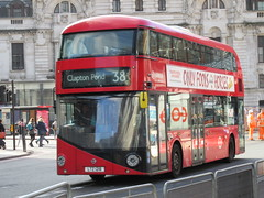Arriva London LT218 (Teek the bus enthusiast) Tags: victoria putney bridge route 36 507 london buses go ahead abellio metroline tower transit national express