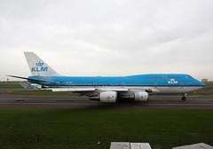 PH-BFI Boeing 747-406 KLM Airlines (corkspotter / Paul Daly) Tags: phbfi boeing 747406 b744 25086 850 l4j ehbk 48403d klm kl royal dutch airlines 1991 19910505 ams eham amsterdam