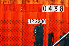 nummers (roberke) Tags: nummers cijfers container lines lijnen colorfull kleurrijk omheining numbers getallen rust roest outdoor buiten detail