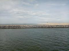 Marker Wadden strand zeilschip Bounty @Oxalex  groot