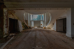 London Mansion (Alex Burnells Photography) Tags: abandoned urbex mansion home forgotten decay staircase