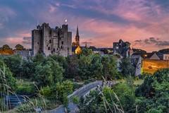 Trim Castle (decovision84) Tags: trim castle county meath comeath ireland castles raw sunset dusk warm