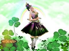 St. Patrick's Day (JewelOfDeNiel MV♛USA 2015) Tags: swank event irrisistible shop saint patrick fantasy mesh dress