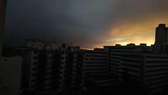 Jaune fire (paul-henri) Tags: sailfishos sunset xa2 sky yellow jaune ciel cloud nuage