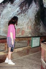 Ngaro Cultural Site (NettyA) Tags: 1993 australia hookisland narainlet ngaroculturalsite qld queensland whitsundayisland scannedprint indigenous aboriginal artwork painting