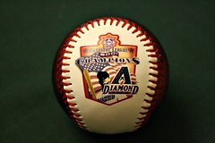 COUNTDOWN TO OPENING DAY: 1 DAY (MIKECNY) Tags: baseball mlb worldseries fallclassic 2001 nationalleaguechampions diamondbacks arizona memorabilia