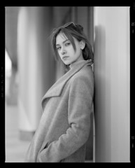 Настя (igorkondukov) Tags: mamiyarz67 monochrome model mediumformat mamyia portrait pretty beautiful blackandwhite bw film filmphoto портрет пленка девушка