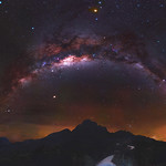Milky Way at the Stirling Ranges National Park, Western Australia thumbnail