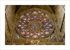 Rose Window (prendergasttony) Tags: rose window stvitus church cathedral prague tonyprendergast nikon d7200 praha