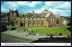 Bangor Cathedral and University College of North Wales (tico_manudo) Tags: wales gales reinounido unitedkingdom europa postcards bangorcathedral universitycollegeofnorthwales paísdegales