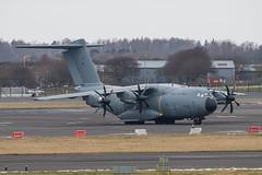 ZM403 A400M RAF Prestwick 02.03.18 (Robert Banks 1) Tags: zm403 a400 a400m airbus atlas c1 raf royal air force prestwick egpk pik