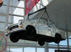 OH Cleveland - Mirror Car (scottamus) Tags: mirror rockrollhalloffame cleveland ohio cuyahogacounty odd strange unusual weird car vehicle roadsideattraction