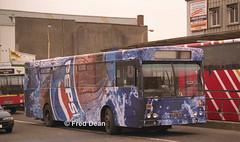 Bus Eireann KC164 (UZG164). (Fred Dean Jnr) Tags: buseireann gac kc164 uzg164 zg parnellplacebusstation cork june1999 alloverad pepsi