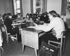 Schulbesetzung_Reher_11 (Klosterschule) Tags: klosterschule hamburg schulbesetzung besetzung schwarzweis blackandwhite history geschichte schulgeschichte historisch school schule 1981 80er 80s