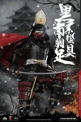 COOMODEL 20181215 CM-SE041 Black Cattail Armor of Oda Nobunaga 织田信长黑系南蠻胴具足 - 01 (Lord Dragon 龍王爺) Tags: 16scale 12inscale onesixthscale actionfigure doll hot toys coomodel samurai