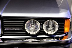BMW 323 i (1982) (just.Luc) Tags: munich münchen bavaria bavière beieren bayern car auto wagen voiture circles cercles digits number cijfers chiffres metal metaal allemagne deutschland duitsland germany museum museo musée museet