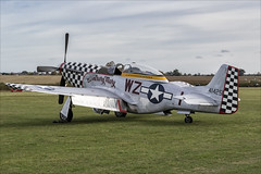 North American TF-51D Mustang - 01 (NickJ 1972) Tags: shuttleworth collection oldwarden race day airshow 2018 aviation northamerican p51 tf51 mustang gtfsi 4414251 wzi 4484847 contrarymary