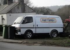 Bedford Midi Van (occama) Tags: bedford midi van white 1990s old cornwall uk japanese rare