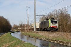 ...e al pomeriggio merci! (Maurizio Zanella) Tags: treni trains ferrovia railways cti captrain bls re486507 tec64309 italia alessandria roccagrimalda tec41609