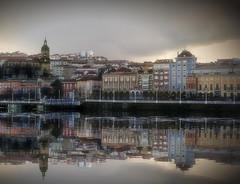 portugalete (azucena G. De Salazar) Tags: basquecountry euskalherria euskadi paisvasco portugalete reflection reflejos