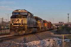 BNSF Temple, TX (jtrainb) Tags: bnsf hdaysla116 lampasassub railroads temple texas sunset