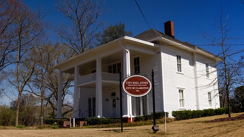 Clarkston historic City Hall Annex