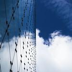 DSC_2456 glass facade - sky mirror reflection thumbnail