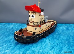 Theodore Tugboat ([Julie v]) Tags: lego theodore tugboat halifax boat ship maritime museum atlantic great big harbour nostalgia