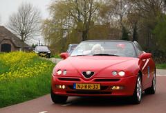 1996 Alfa Romeo Spider 2.0 Twin Spark 16V (rvandermaar) Tags: 1996 alfa romeo spider 20 twin spark 16v alfaromeospider alfaromeo alfaspider sidecode5 njrr33
