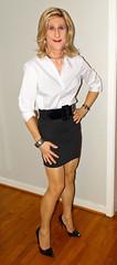 181020_Alexandra_f (AlexandraCollins) Tags: crossdresser crossdress crossdressing heels legs pantyhose stockings secretary