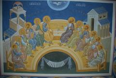 Алтарь храма Иоанна Предтечи. Покровский монастырь г.Хотьково