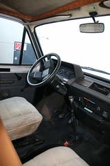 Hymercar Ford Transit (1982) (Mc Steff) Tags: hymercar ford transit 1982 wohnmobil camper erwinhymermuseum dashboard armaturenbrett