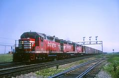 CB&Q GP35 993 (Chuck Zeiler48Q) Tags: cbq gp35 993 burlington railroad emd locomotive eola train chuckzeiler chz