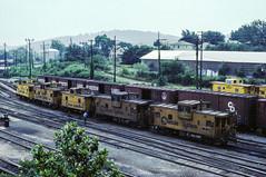 Charlottesville (jameshouse473) Tags: caboose chessie system co bo wm western maryland charlottesville virginia va 1982 boxcar