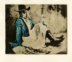 Killin' Time (micalngelo) Tags: alternativeprocess alternativephotography photogravure solarplategravure intaglio alapoupee chinecolleprint chinecolle printmaking portrait photoetching