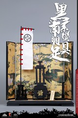 COOMODEL 20181215 CM-SE041 Black Cattail Armor of Oda Nobunaga 织田信长黑系南蠻胴具足 - 14 (Lord Dragon 龍王爺) Tags: 16scale 12inscale onesixthscale actionfigure doll hot toys coomodel samurai