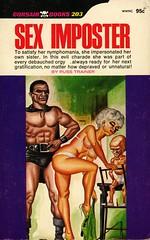 Corsair Books 203 - Russ Trainer - Sex Imposter (swallace99) Tags: corsair vintage 60s sleaze paperback eugenebilbrew