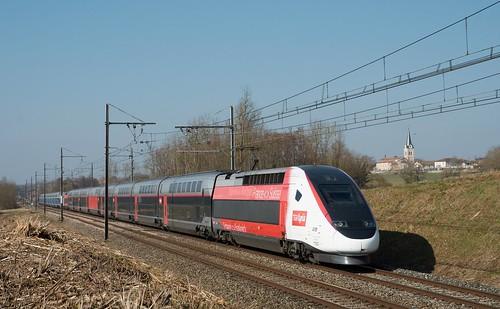 TGV Euro Duplex 3UA 4719 en UM