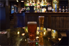 After walk treat. (A tramp in the hills) Tags: pint blacksheep sprotborough doncaster lager theboatinn pub
